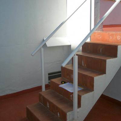 trabajo a realizar construir escalera metlica