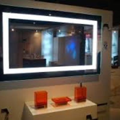 design espejos de bao con luz integrada espejos cuartos de bao con luz