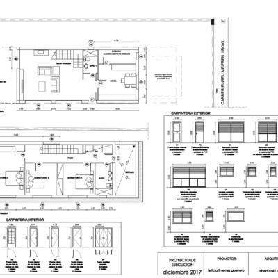Casa unifamiliar en comarruga tarragona masia blanca for Casa minimalista tarragona