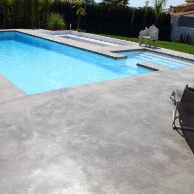 Suelo de cemento pulido navarrete la rioja habitissimo for Cemento pulido exterior