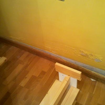 Pintar habitaci n reparar suelo flotante y colocar ropero - Precio pintar habitacion ...