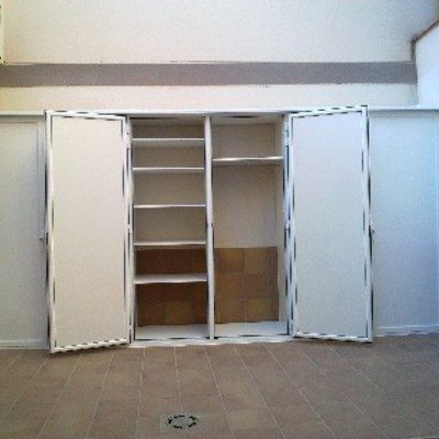 Instalar armario de aluminio blanco exterior hermetico - Armario pvc exterior ...
