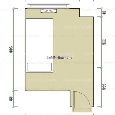 Poner friso en una habitaci n pinto madrid habitissimo for Plano habitacion online