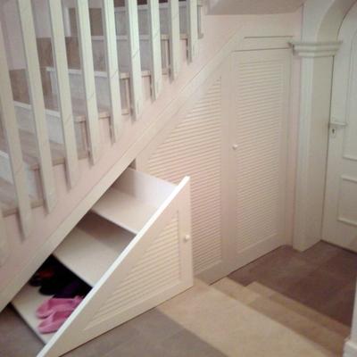 Mueble bajo escalera alovera guadalajara habitissimo for Zapatero bajo escalera