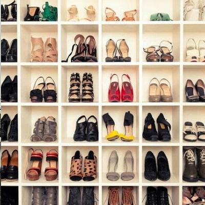 Hacer armario muy estrecho y alto con apartados para - Armarios para zapatos ...
