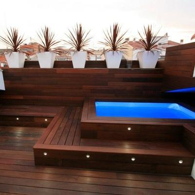 Construir piscina en tico camino carbonell c rdoba for Piscina 2x3 metros