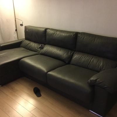 Tapizar sofa 3 plazas y chaiselongue la plana esplugues - Tapizar sofa barcelona ...