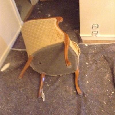 Tapizar butaca y dejarla como nueva la madera est bien - Precio tapizar butaca ...