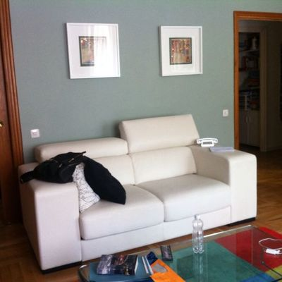 Tapizado dos sofas divatto chamber madrid madrid for Divatto on line