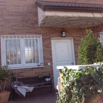 Cerramiento porche entrada colmenar viejo madrid - Porche entrada vivienda ...