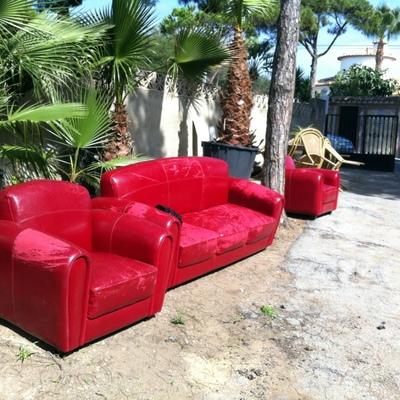 Tapizar un sof y dos butacas mijas costa m laga - Tapiceros en malaga ...
