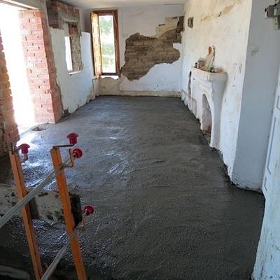 Precio revestir con microcemento vivienda parcial habitissimo - Suelo de cemento pulido precio ...