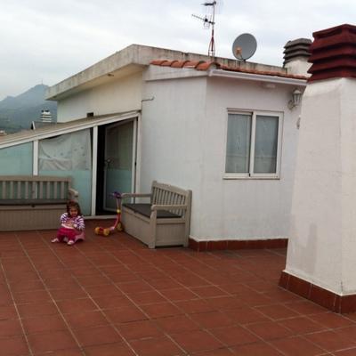Decorar terraza grande y alta portugalete vizcaya - Como decorar una terraza grande ...
