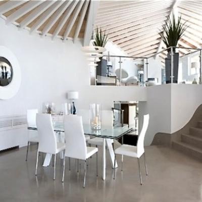 Microcemento en paredes y suelo cocina valencia valencia habitissimo Microcemento en valencia