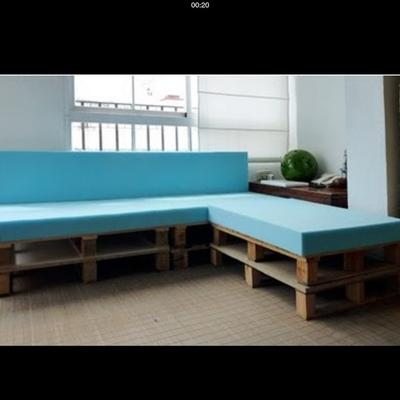 Suministrar goma espuma para sof exterior campamento for Sofa rinconera exterior