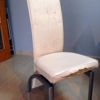 Tapizar 4 sillas comedor viladecans barcelona habitissimo - Presupuesto tapizar sillas ...