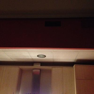Poner una rejilla en el ba o insonorizar techo de cocina - Insonorizar techo habitacion ...