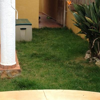 Cerrar garaje para hacer trastero y solera en jard n de 14 for Trastero jardin