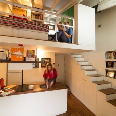Altillo sobre ba os y cocina valencia valencia Apartamentos con altillo