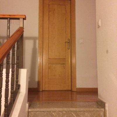 Puerta bloque para ni os en escalera torrelaguna - Puertas de escaleras para ninos ...