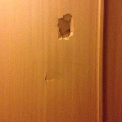 Reparar madera de puertas rotas madrid madrid for Como arreglar una puerta de madera