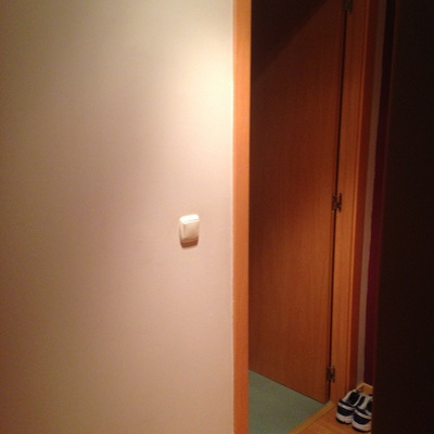 Convertir puerta abatible en corredera exterior soto - Convertir puerta en corredera ...