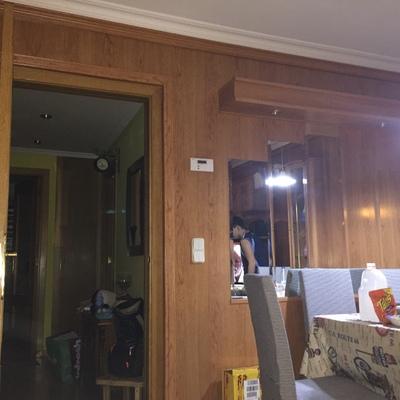 Quitar Panel Madera Salon Leganes Madrid Habitissimo - Panelado-madera