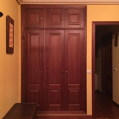 Forrar 2 armarios empotrados 3 puertas pastoriza - Forrar armarios empotrados ...