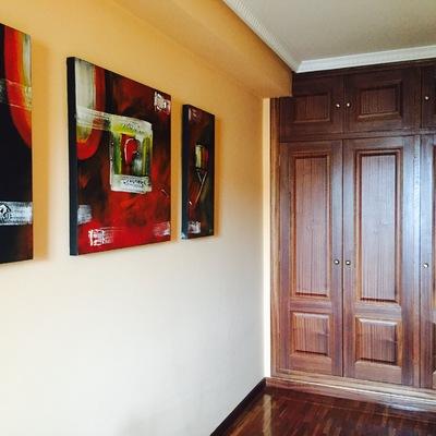 Forrar interior de 2 armarios empotrados pastoriza for Forrar interior armario