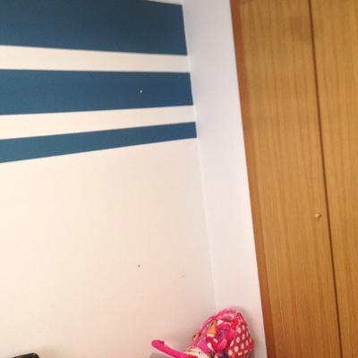 Pintar una habitacion infantil a dos colores pared lisa - Pintar paredes lisas ...