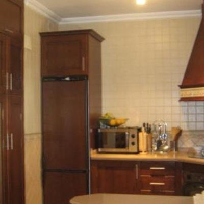 Lacado muebles de cocina en blanco roto olivar de - Muebles online sevilla ...