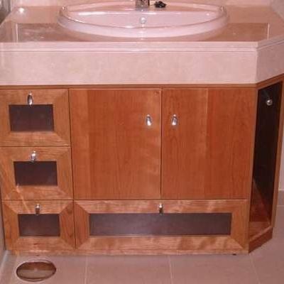 Mueble bajo encimera a medida para ba o las rozas de for Mueble bano bajo encimera