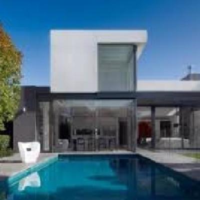 Construir casa moderna villa del prado madrid for Construir casas modernas