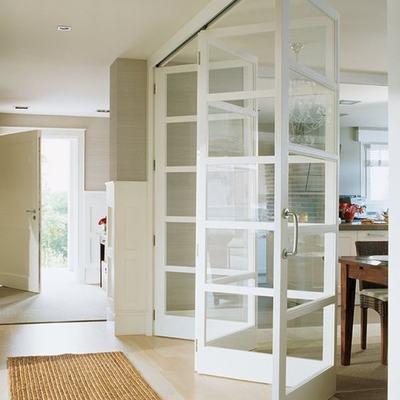 Puertas cristaleras abatibles cocina sant cugat del - Puerta abatible cocina ...
