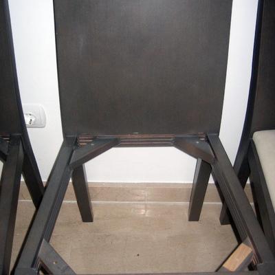Tapizar sillas de comedor alicante alicante habitissimo - Presupuesto tapizar sillas ...