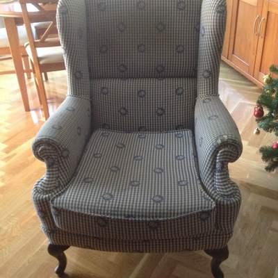 Presupuesto tapizado sillon orejero valladolid - Tapizar sillon orejero precio ...