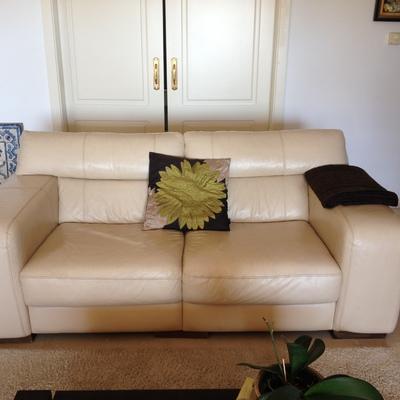 Cubrir 2 sofas con cuero color de crema marbella m laga habitissimo - Sofas en marbella ...