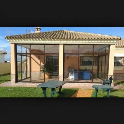 Cerrar porche con cierre de aluminio campi uela baja - Porche de aluminio ...