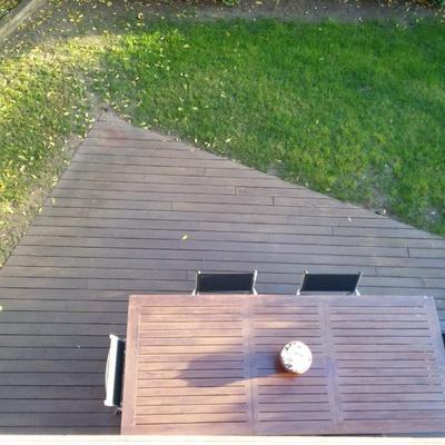 Lijar y barnizar tarima de madera exterior sant cugat - Barnizar madera exterior ...