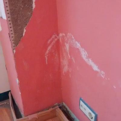 Quitar material viejo de pared para volver a rasear - Albaniles bilbao ...