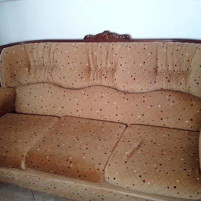 Arreglo en sofa por quemadura en el brazo izquierdo - Tapiceros en malaga ...
