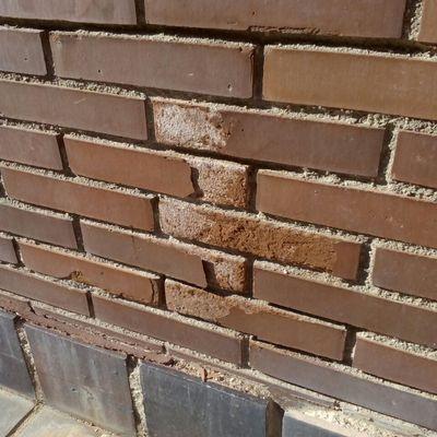 Rehabilitar muro de ladrillo visto de tetu n - Ladrillo visto precio ...
