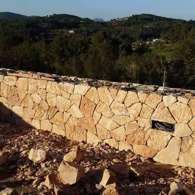next trabajo a realizar construir muro piedra - Muro De Piedra