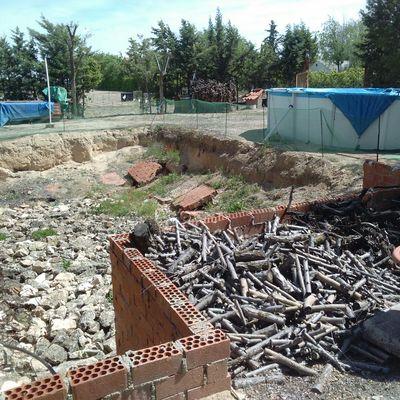 Construcci n piscina crtra manzanares km 5 alcazar de for Piscina alcazar de san juan