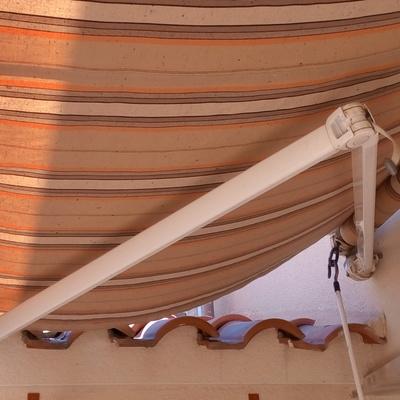 reparar sustituir brazo extensible toldo llaza de 2 50m de