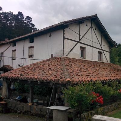 Cambio de tejado en unifamiliar andraka vizcaya for Tejados madera vizcaya