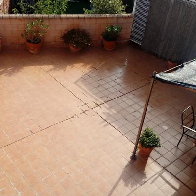 Cambiar solado terraza exterior santa fe cadrete for Cambiar suelo terraza sin obras