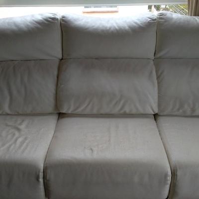 Tapizar de blanco sof castelldefels barcelona - Precio tapizar sofa ...