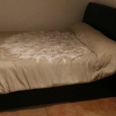 Tapizar arcon de cama con cabecero y pie de cama l - Tapizar cabecero de cama ...