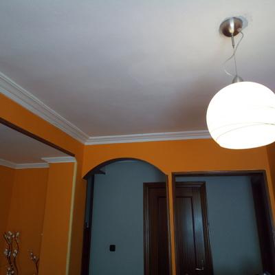 Pintar una habitaci n y sal n de blanco errenteria - Precio pintar habitacion ...